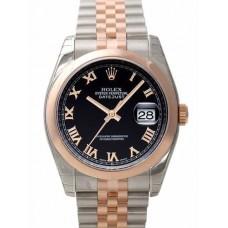 Rolex Datejust reloj de replicas 116201-16