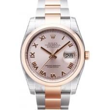 Rolex Datejust reloj de replicas 116201-18