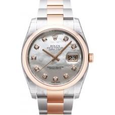 Rolex Datejust reloj de replicas 116201-32