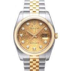 Rolex Datejust reloj de replicas 116203-30