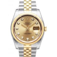 Rolex Datejust reloj de replicas 116233-6