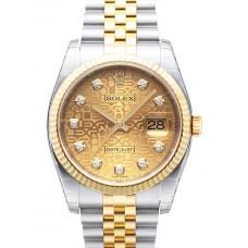 Rolex Datejust reloj de replicas 116233-17