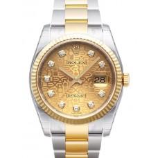 Rolex Datejust reloj de replicas 116233-38