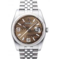 Rolex Datejust reloj de replicas 116234-21