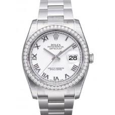 Rolex Datejust reloj de replicas 116244-38