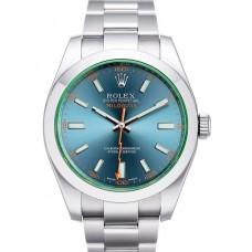 Rolex Milgauss reloj de replicas 116400 GV blue