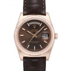 Rolex Day-Date reloj de replicas 118135-1