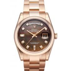 Rolex Day-Date reloj de replicas 118205-16