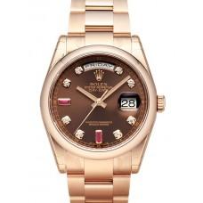 Rolex Day-Date reloj de replicas 118205-8