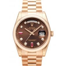 Rolex Day-Date reloj de replicas 118205-10