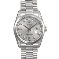 Rolex Day-Date reloj de replicas 118296-1