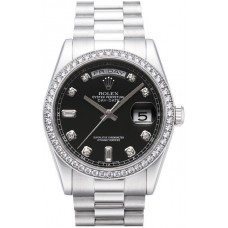 Rolex Day-Date reloj de replicas 118206-9
