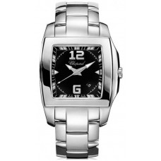 Replicas Reloj Chopard Two O Ten Black Dial Stainless Steel Senora  118464-3001