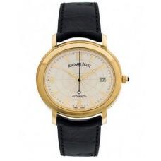 Replicas de Audemars Piguet Millenary 18kt Yellow Gold Black hombres reloj
