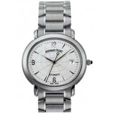Replicas de Audemars Piguet Millenary Dial de plata de acero inoxidable hombres reloj