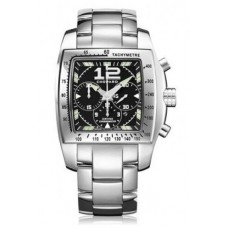 Replicas Reloj Chopard Two O Ten Automatic Chronograph Black Dial Steel Senora  158961-3001