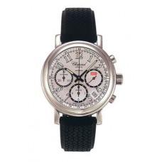 Replicas Reloj Chopard Mille Miglia Steel Black Rubber hombres 16/8331-99
