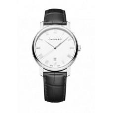 Replicas Reloj Chopard hombres Classic 18-Karat White Gold 161278-1001