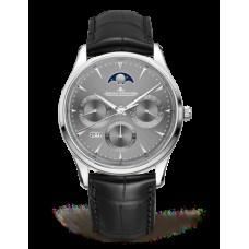 Réplica Jaeger-LeCoultre 130354J Master Ultra Thin Perpetual Oro blanco/Gris