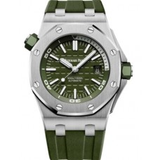 Réplica Audemars Piguet Royal Oak Offshore Diver Stainless Stee Khaki Reloj