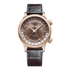 Réplica Chopard L.U.C GMT ONE 18K Rosa oro Hombres Reloj