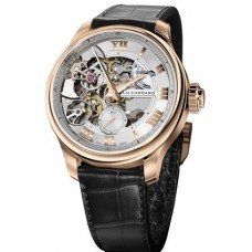Réplica Chopard L.U.C Full Strike 18K Rosa oro Hombres Reloj