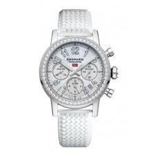 Réplica Chopard Mille Miglia Classic Cronografo Diamante-set Acero inoxidable Reloj