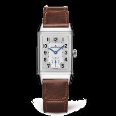 Réplica Jaeger-LeCoultre 2438522 Reverso Classic Medium Small Seconds Acero inoxidable/plata/Fagliano