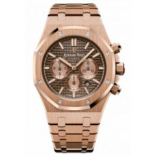 Réplica Audemars Piguet Royal Oak Cronografo Rosa oro Reloj