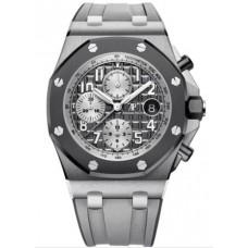 Réplica Audemars Piguet Royal Oak Offshore 26470 Titanium Gris Rubber Reloj