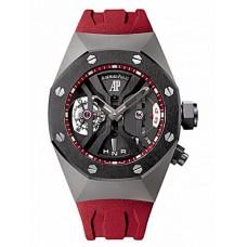 Réplica Audemars Piguet Royal Oak Concept GMT Tourbillon Titanium Reloj