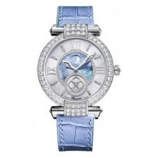 Réplica Chopard Imperiale Moonphase 18k Oro blanco Reloj