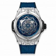 Réplica Hublot Big Bang Sang Bleu Titanium Azul 45mm