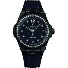 Réplica Hublot Big Bang One Click Italia Independent Dark Azul Velvet 39mm