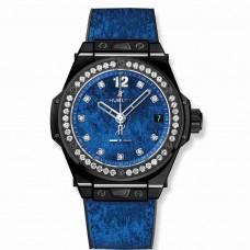 Réplica Hublot Big Bang One Click Italia Independent Azul Velvet 39mm