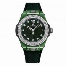Réplica Hublot Big Bang One Click Italia Independent Dark verde Velvet 39mm