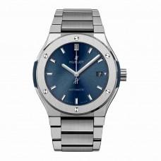 Réplica Hublot Classic Fusion Azul Titanium Bracelet 45mm