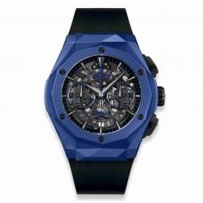 Réplica Hublot Classic Fusion Aerofusion Cronografo Orlinski Azul Ceramic 45mm