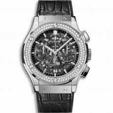 Réplica Hublot Classic Fusion Aerofusion Titanium Diamantes 45mm
