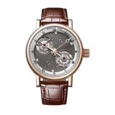 Réplica Breguet Double Tourbillon 5347 18K Rosa oro Hombres Reloj