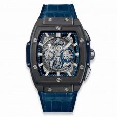 Réplica Hublot Spirit of Big Bang Ceramic Azul 45mm