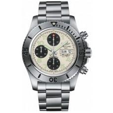 Réplica Breitling Superocean Cronografo Acerofish Hombres Reloj