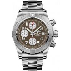 Réplica Breitling Avenger II Acero inoxidable Reloj