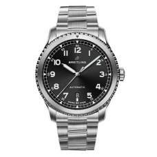 Réplica Breitling Navitimer 8 Automatico Negro Dial Bracelet Reloj