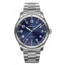 Réplica Breitling Navitimer 8 Automatico Azul Dial Bracelet Reloj