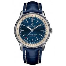 Réplica Breitling Navitimer 1 Automatico 38 Azul Dial Hombres Reloj
