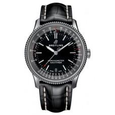 Réplica Breitling Navitimer 1 Automatico 38 Negro Dial Hombres Reloj