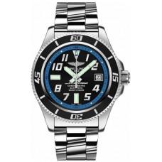 Réplica Breitling Superocean Abyss 42 Automatico Negro Dial Hombres Reloj