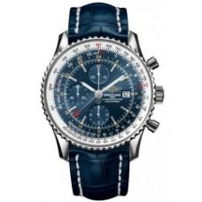 Réplica Breitling Navitimer World Acero inoxidable Reloj