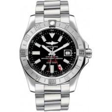 Réplica Breitling Avenger II GMT Negro Dial Hombres Reloj